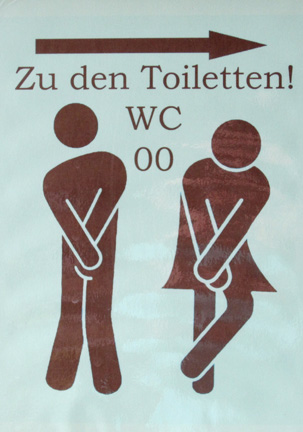 Bathroom Signs In Germany funny bathroom signs – see! travel