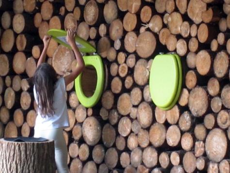 Toilet Seat Exhibit